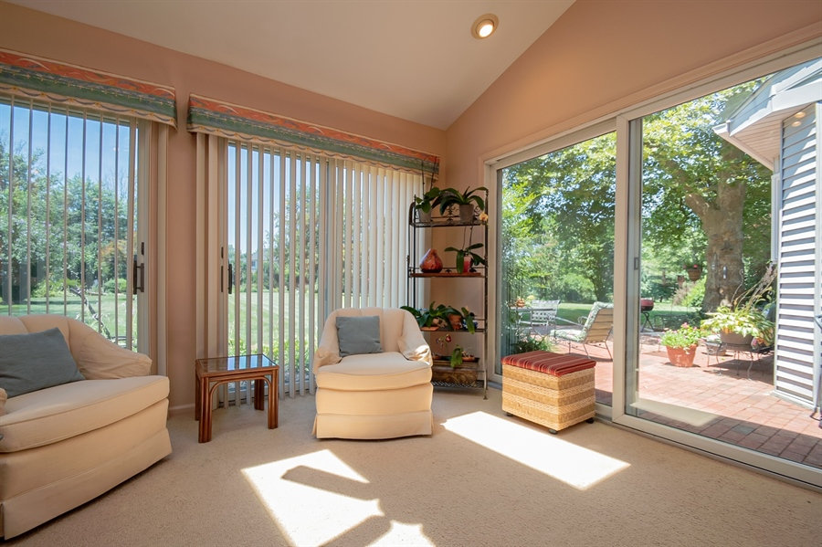 Real Estate Photography - 11 Tenby Chase Dr, Newark, DE, 19711 - Windows Throughout Sun Room