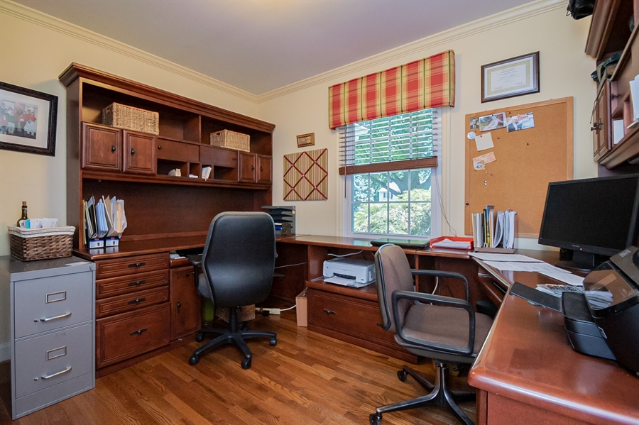 Real Estate Photography - 11 Tenby Chase Dr, Newark, DE, 19711 - Main Floor Office