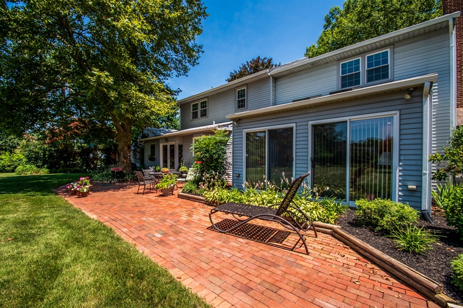Real Estate Photography - 11 Tenby Chase Dr, Newark, DE, 19711 - Brick Patio