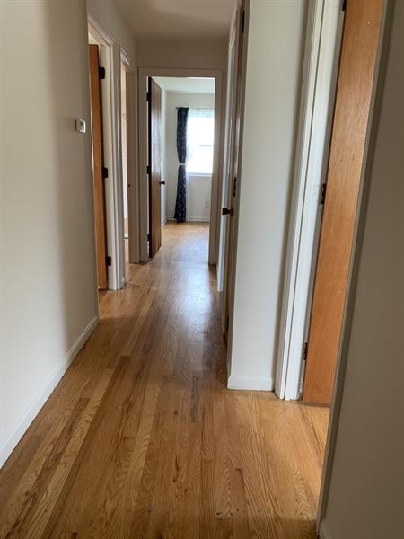 Real Estate Photography - 15 Yeates Dr, New Castle, DE, 19720 - 2nd floor w/ hardwood flooring