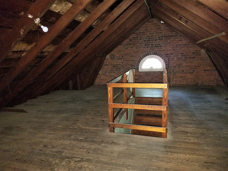 Real Estate Photography - 12 Cragmere Rd, Wilmington, DE, 19809 - Walkup attic w/ plenty of space