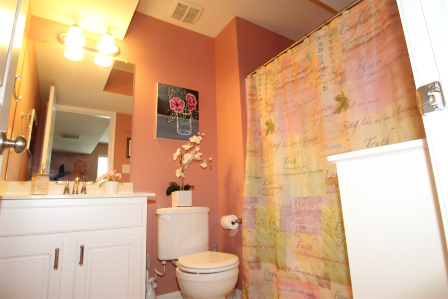 Real Estate Photography - 111 Russell Lane, Newark, DE, 19711 - Lower Level Full Bath