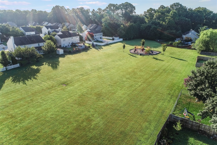 Real Estate Photography - 125 Millcreek Dr, Dover, DE, 19904 - Top view of the park