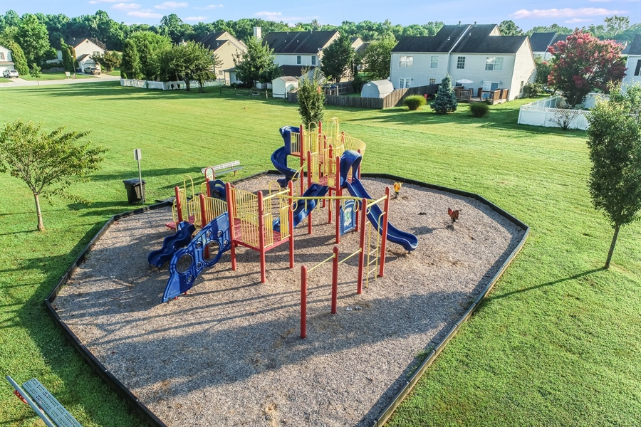 Real Estate Photography - 125 Millcreek Dr, Dover, DE, 19904 - Playground in the park