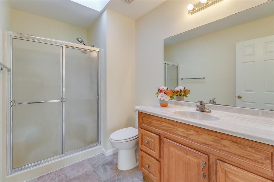 Real Estate Photography - 125 Millcreek Dr, Dover, DE, 19904 - Master bathroom w/skylight