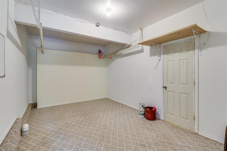 Real Estate Photography - 125 Millcreek Dr, Dover, DE, 19904 - Bonus/storage room in the garage