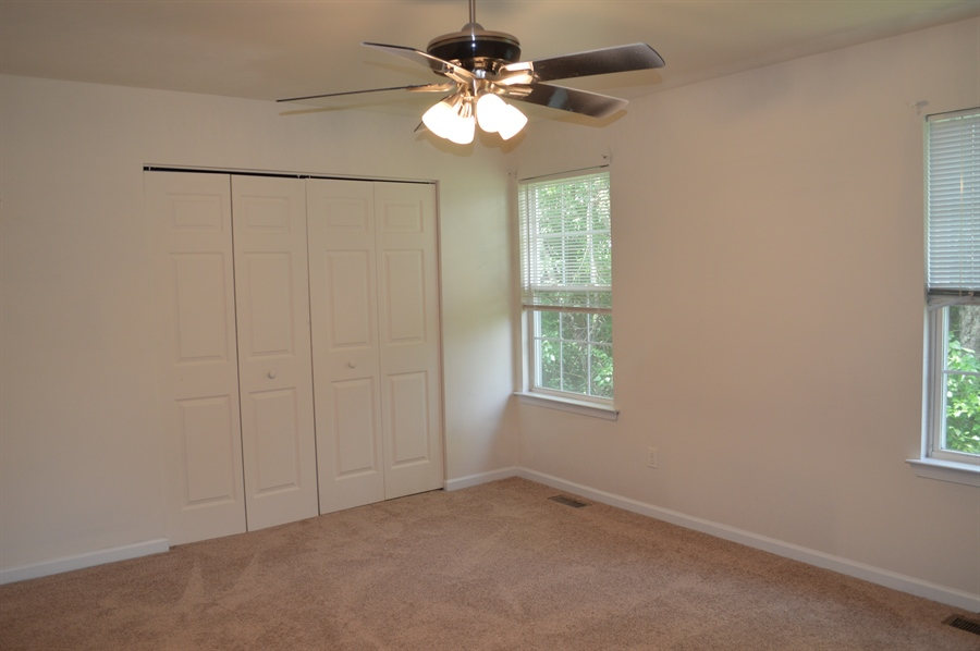 Real Estate Photography - 210 Vincent Cir, Middletown, DE, 19709 - Another View of Master Bedroom w/ Ceiling Fan