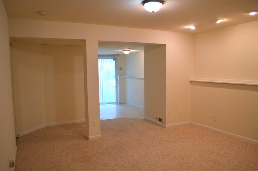 Real Estate Photography - 210 Vincent Cir, Middletown, DE, 19709 - View of Finished Basement w/ Recess Lighting