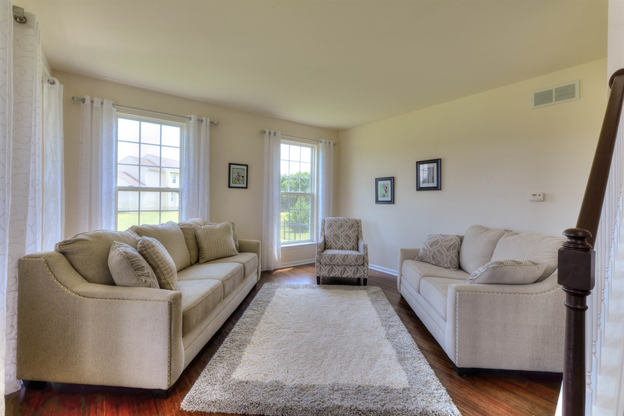 Real Estate Photography - 30096 Stage Coach Cir, Milford, DE, 19963 - Front Living/ Flex Room