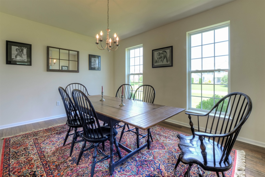 Real Estate Photography - 30096 Stage Coach Cir, Milford, DE, 19963 - Another Look at the Dining Area