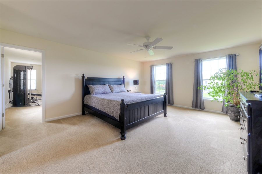 Real Estate Photography - 30096 Stage Coach Cir, Milford, DE, 19963 - Large Master Bedroom