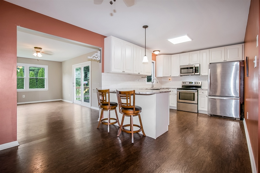 Real Estate Photography - 1715 Pennrock Rd, Wilmington, DE, 19809 - Complete Kitchen renovation in 2018
