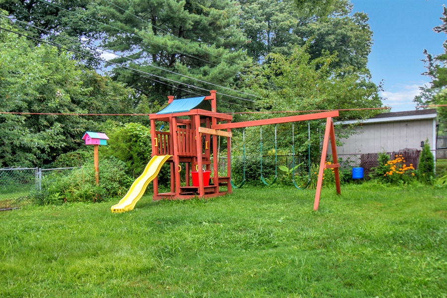 Real Estate Photography - 1715 Pennrock Rd, Wilmington, DE, 19809 - playgym included for the kids