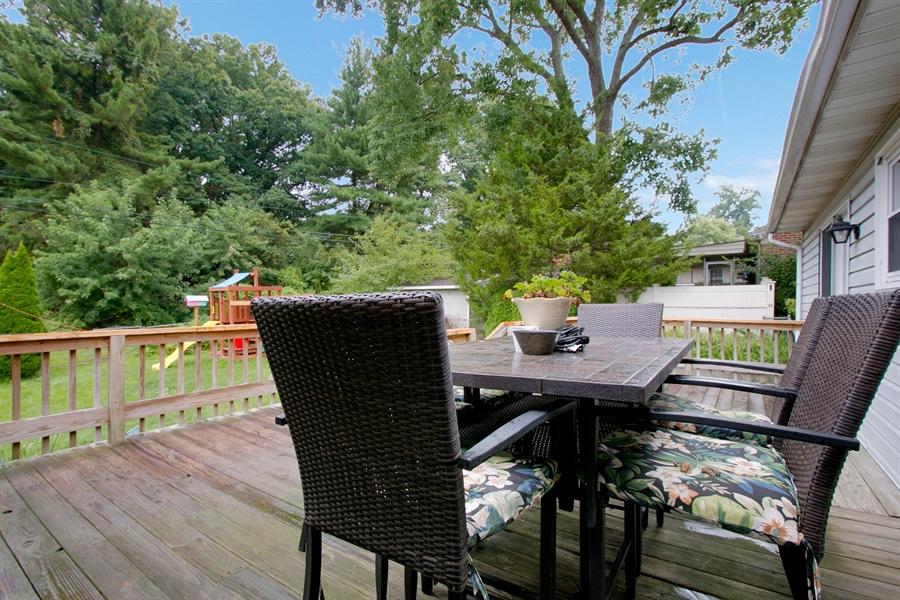 Real Estate Photography - 1715 Pennrock Rd, Wilmington, DE, 19809 - plenty of room for outside dining