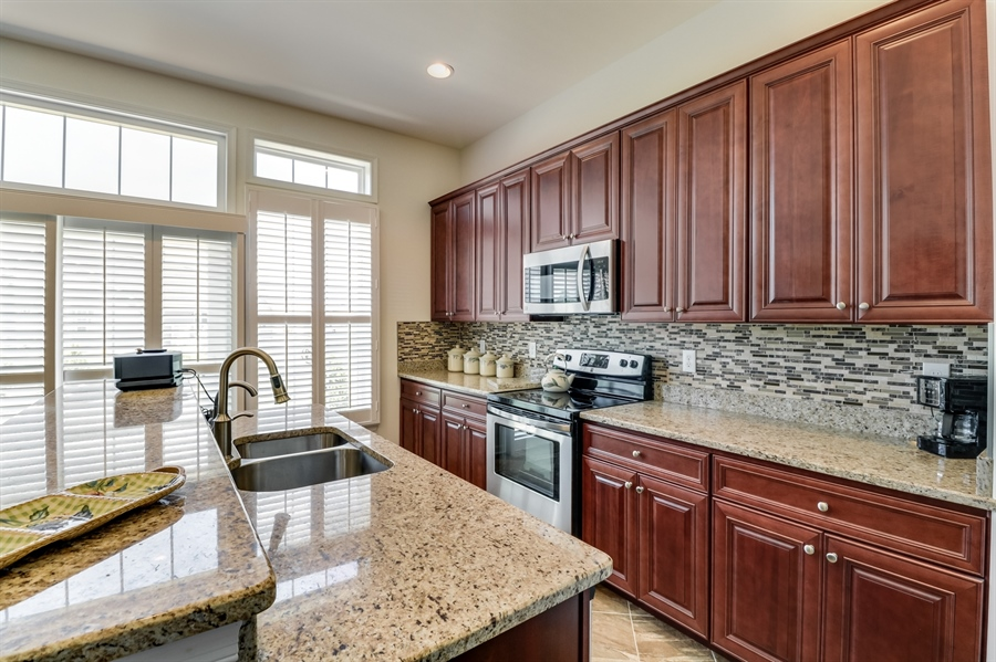 Real Estate Photography - 7771 Clydesdale Ct, Milford, DE, 19963 - Granite countertops