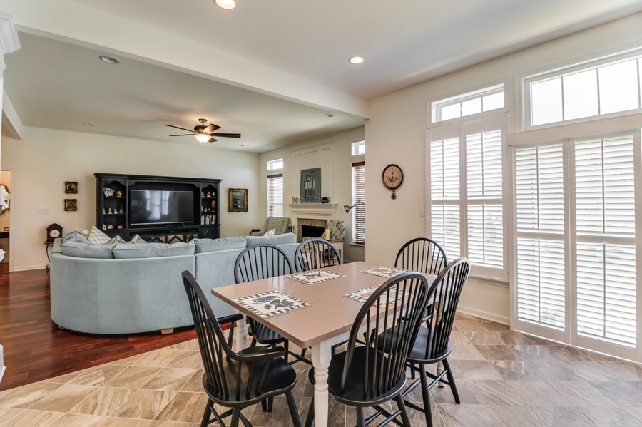 Real Estate Photography - 7771 Clydesdale Ct, Milford, DE, 19963 - Kitchen opens to the breakfast and great rooms