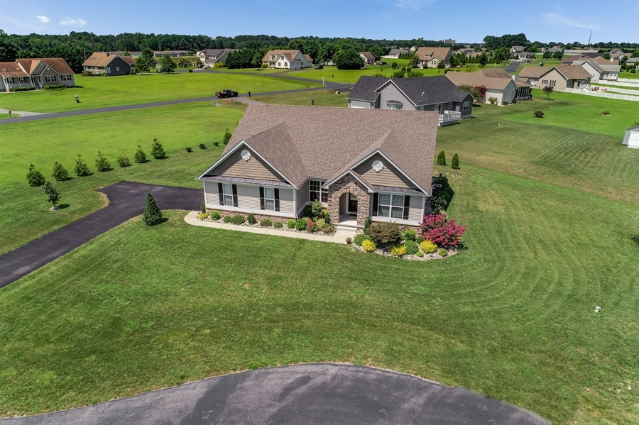 Real Estate Photography - 7771 Clydesdale Ct, Milford, DE, 19963 - Home is nestled on 0.45 acr lot on a cul-de-sac