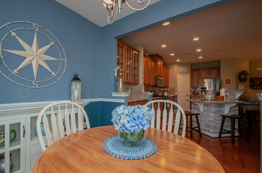 Real Estate Photography - 31334 Riverwood Road, Millsboro, DE, 19966 - Dining Kitchen view
