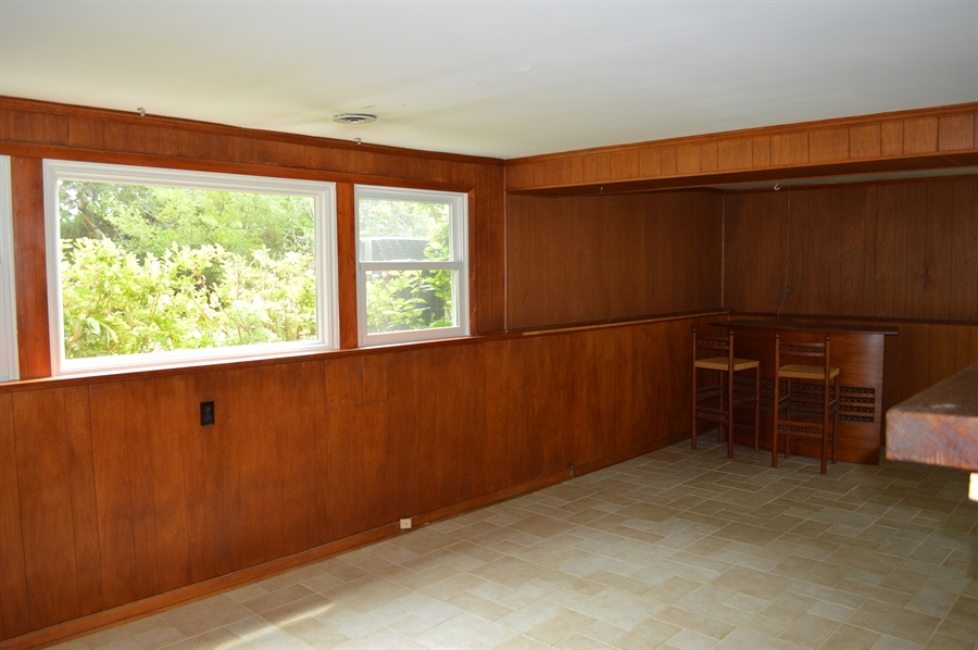 Real Estate Photography - 2403 McCawber Dr, Wilmington, DE, 19808 - Family Room w/ Picture Window Overlooking Yard