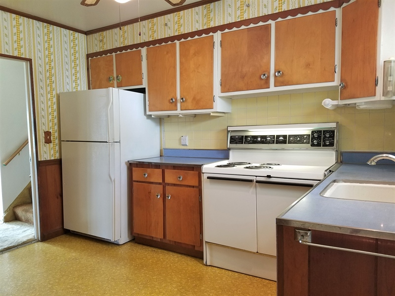 Real Estate Photography - 98 S Avon Dr, Claymont, DE, 19703 - Kitchen