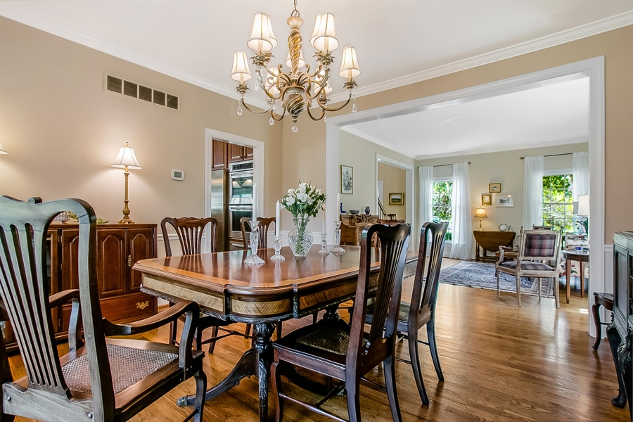 Real Estate Photography - 204 S Pond Rd, Hockessin, DE, 19707 - Another Dining Room View