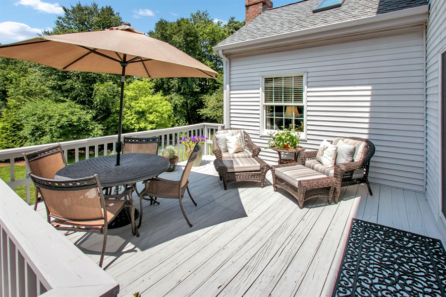 Real Estate Photography - 204 S Pond Rd, Hockessin, DE, 19707 - Another Deck View