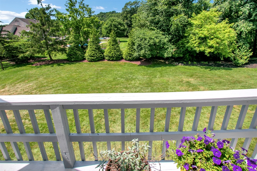 Real Estate Photography - 204 S Pond Rd, Hockessin, DE, 19707 - Private View Off Of Deck
