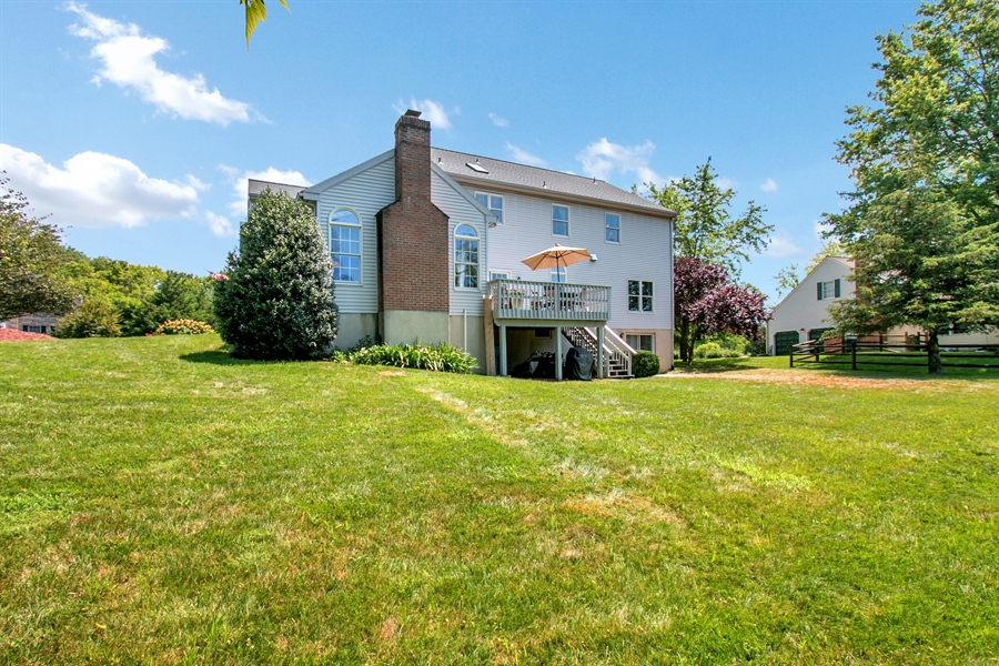 Real Estate Photography - 204 S Pond Rd, Hockessin, DE, 19707 - Another View of the Back of the Home