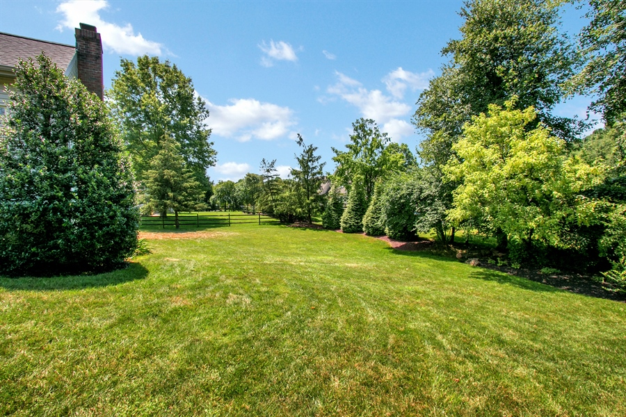Real Estate Photography - 204 S Pond Rd, Hockessin, DE, 19707 - Rear Yard View