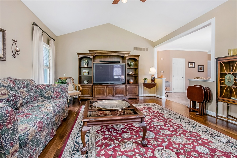 Real Estate Photography - 204 S Pond Rd, Hockessin, DE, 19707 - Another Family Room View