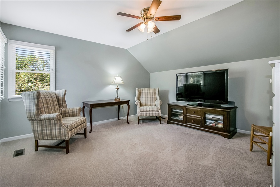 Real Estate Photography - 204 S Pond Rd, Hockessin, DE, 19707 - Spacious Sitting Room - Would Make a Great Closet!