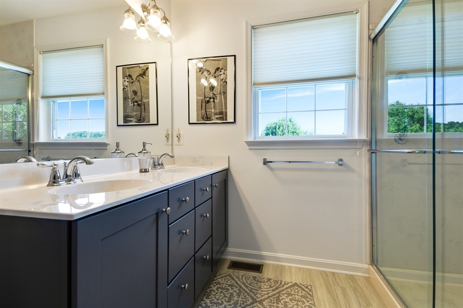 Real Estate Photography - 156 Long Dr, Elkton, MD, 21921 - New Master Bath