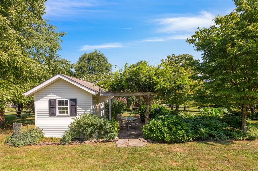 Real Estate Photography - 156 Long Dr, Elkton, MD, 21921 - Shed & Rear Gardens