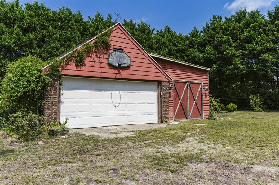Real Estate Photography - 610 Federal St, Milton, DE, 19968 - Detached Garage and Outbuilding