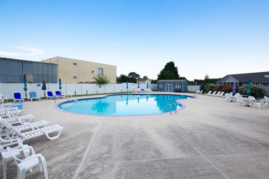 Real Estate Photography - 38047 Creekside Cir, Ocean View, DE, 19970 - Large Community Pool