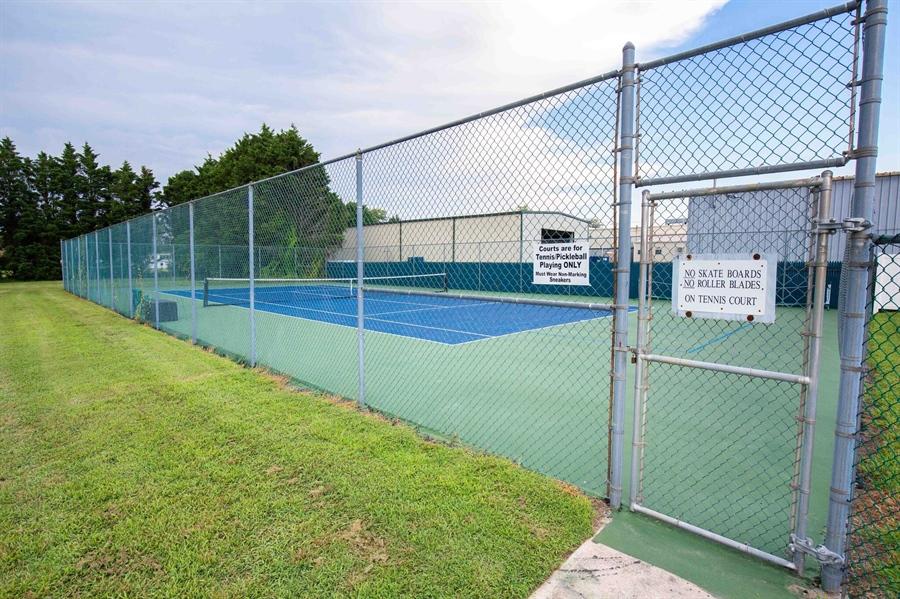 Real Estate Photography - 38047 Creekside Cir, Ocean View, DE, 19970 - Tennis Courts