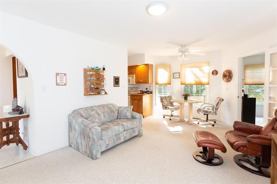 Real Estate Photography - 38047 Creekside Cir, Ocean View, DE, 19970 - Family Room Off Kitchen