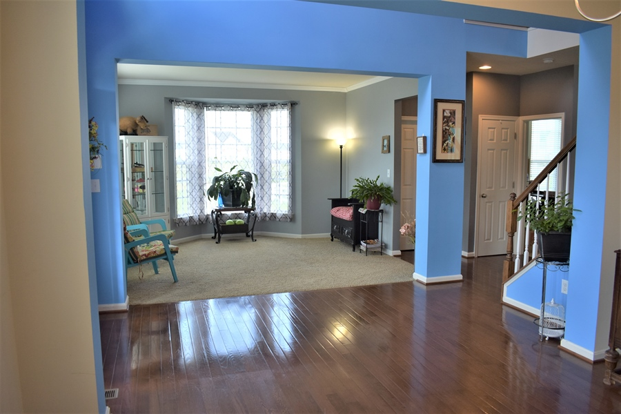 Real Estate Photography - 503 Maiden Ct, Middletown, DE, 19709 - Bright Formal Living Room