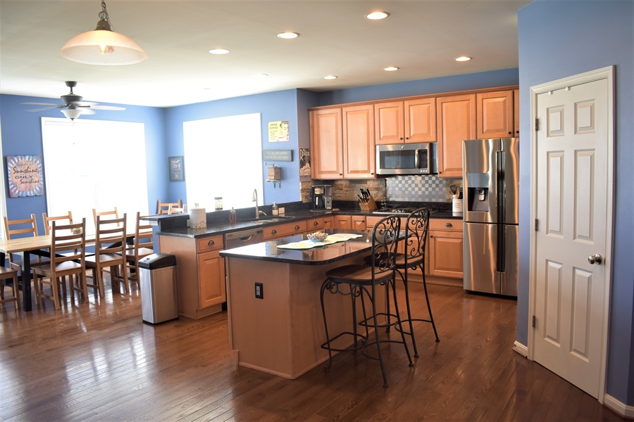 Real Estate Photography - 503 Maiden Ct, Middletown, DE, 19709 - Sunny, Well Appointed Kitchen W/ Recessed Lighting