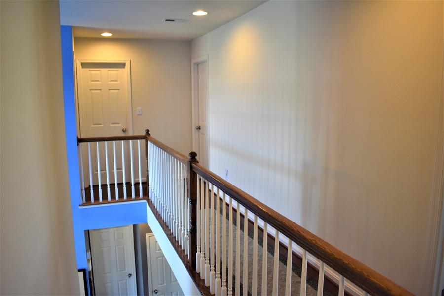 Real Estate Photography - 503 Maiden Ct, Middletown, DE, 19709 - Upstairs Hallway 2nd View