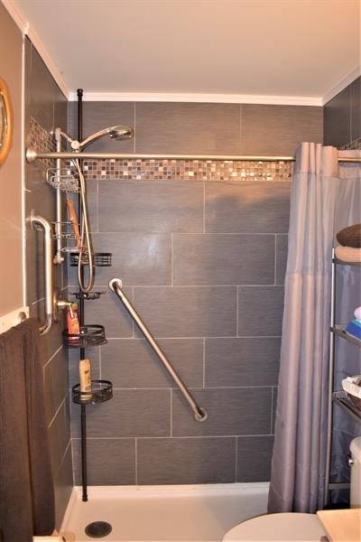 Real Estate Photography - 503 Maiden Ct, Middletown, DE, 19709 - Basement Bonus Room Custom Shower