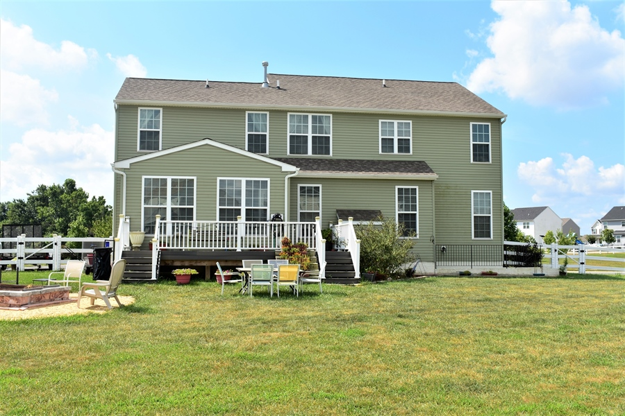 Real Estate Photography - 503 Maiden Ct, Middletown, DE, 19709 - Pretty Rear View
