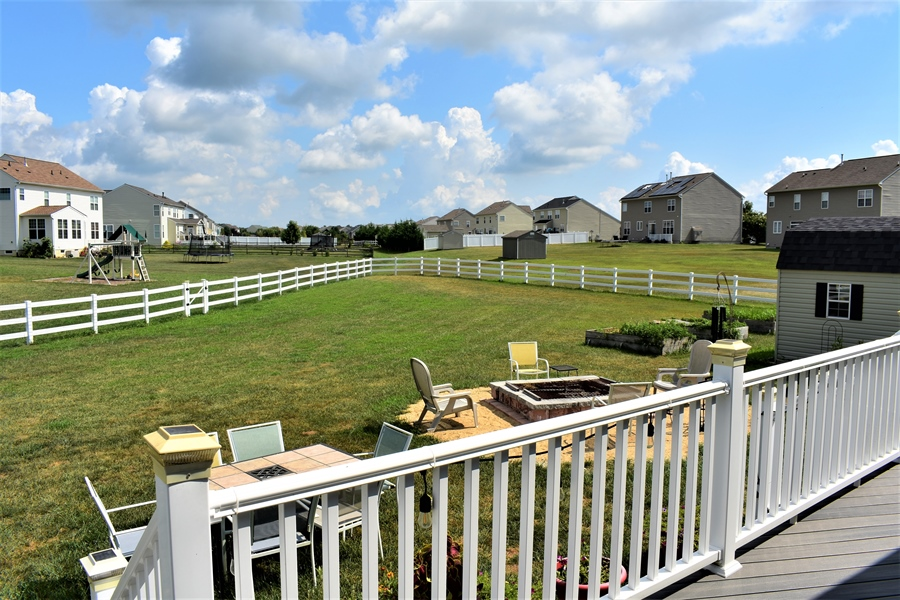 Real Estate Photography - 503 Maiden Ct, Middletown, DE, 19709 - Extra Large Rear Yard W/ Vinyl Fencing!