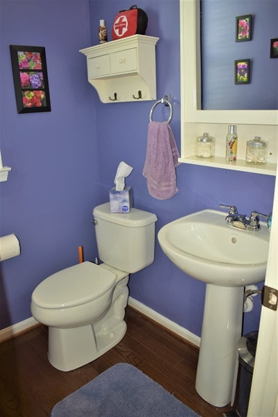 Real Estate Photography - 503 Maiden Ct, Middletown, DE, 19709 - Pretty Powder Room