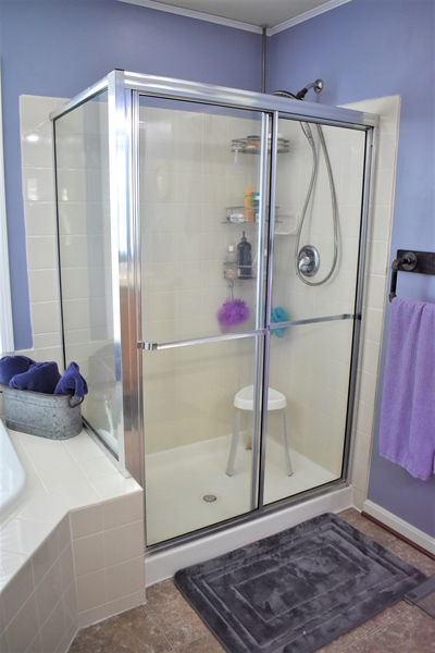 Real Estate Photography - 503 Maiden Ct, Middletown, DE, 19709 - Master Bath Separate Shower Stall