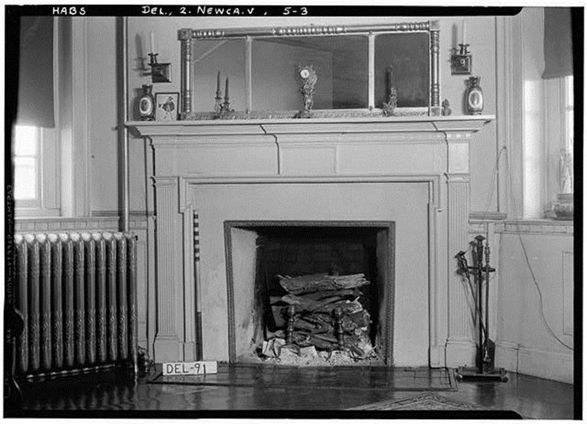 Real Estate Photography - 900 Washington St, New Castle, DE, 19720 - 1936 Historic American Buildings photo