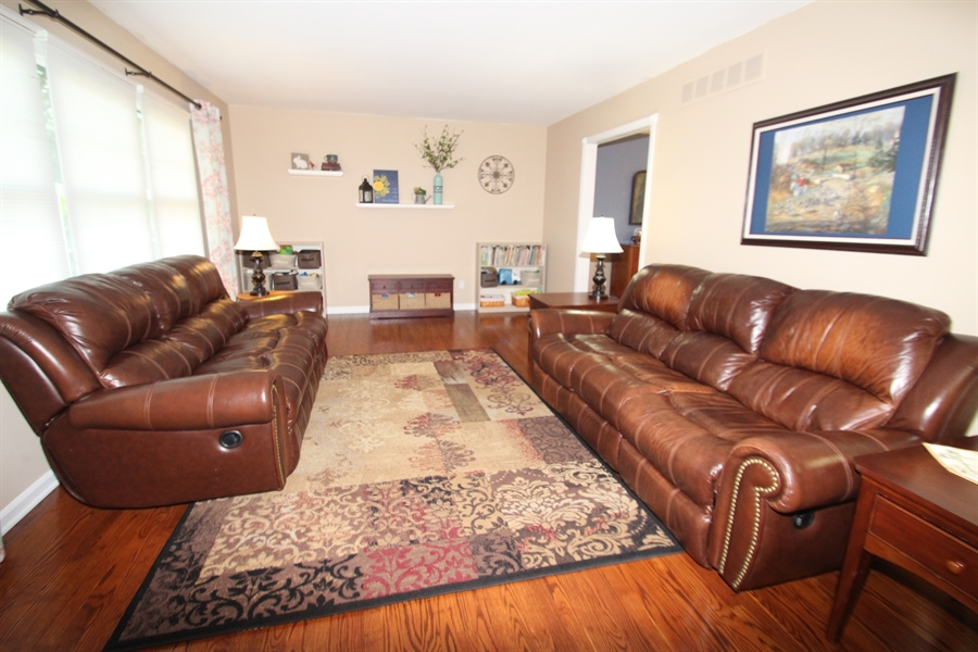 Real Estate Photography - 2413 Dacia Dr, Wilmington, DE, 19810 - Living Room