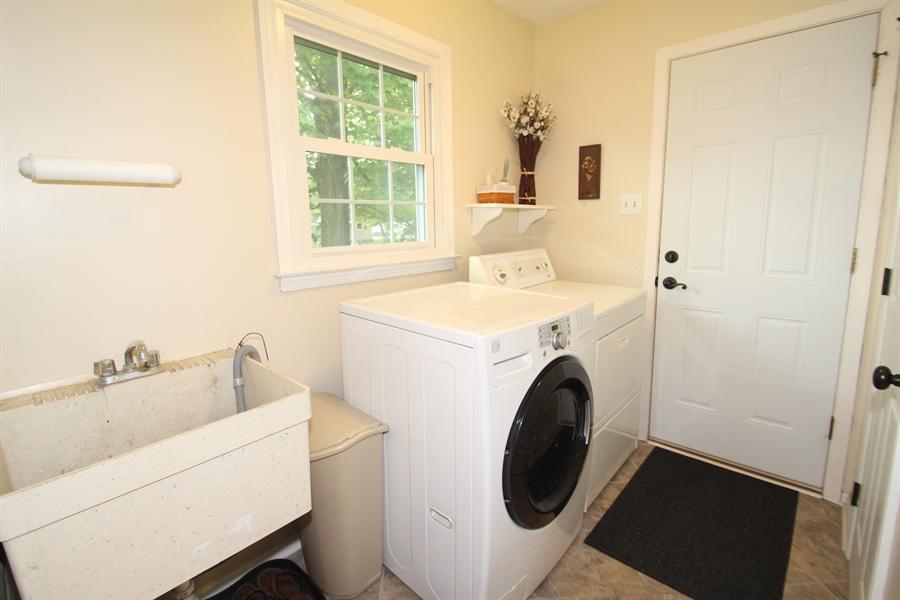 Real Estate Photography - 2413 Dacia Dr, Wilmington, DE, 19810 - Main Floor Laundry