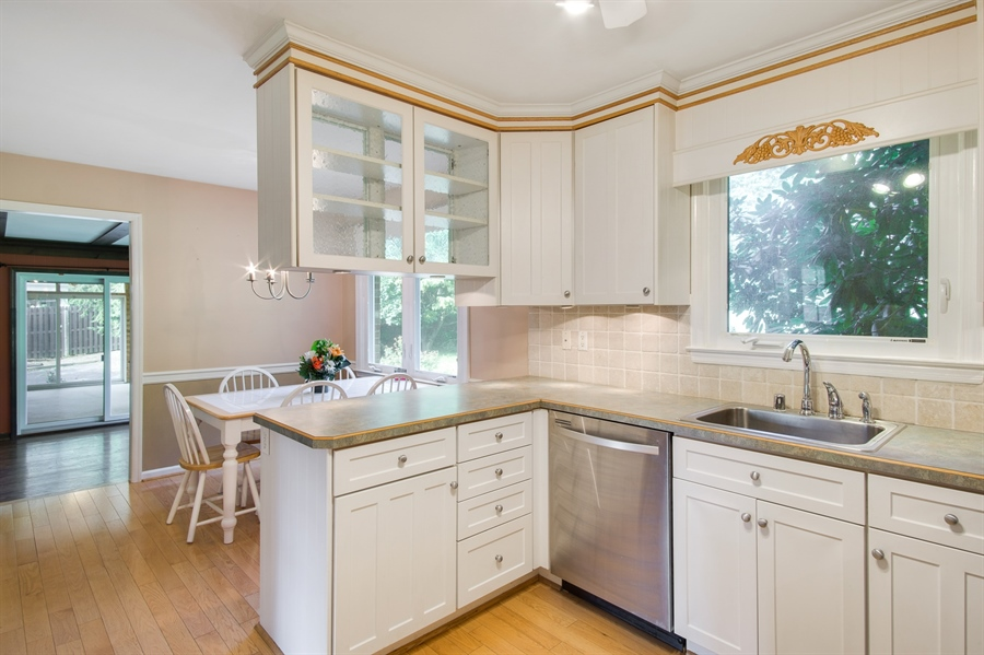 Real Estate Photography - 200 Saturn Dr, Newark, DE, 19711 - Updated Kitchen w/Eat In Area.