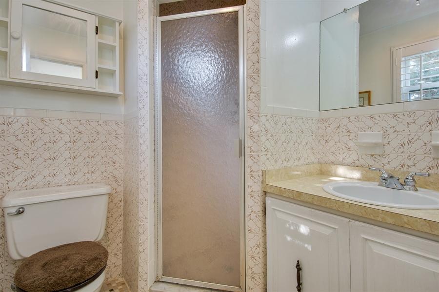 Real Estate Photography - 200 Saturn Dr, Newark, DE, 19711 - Master Bath w/Tile Shower Stall.